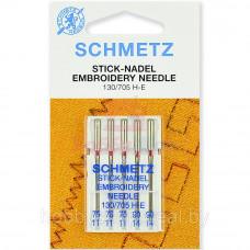 Иглы SCHMETZ для вышивки 5-№75-90